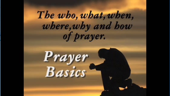 Prayer: What's It All About?